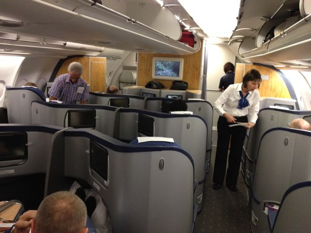 USAir first class