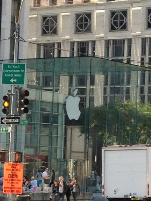 Apple Store 5th Avenue and Central Park
