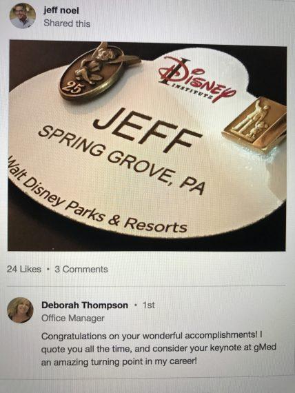 Disney Executive Coach