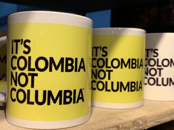 It's not Colombia campaign