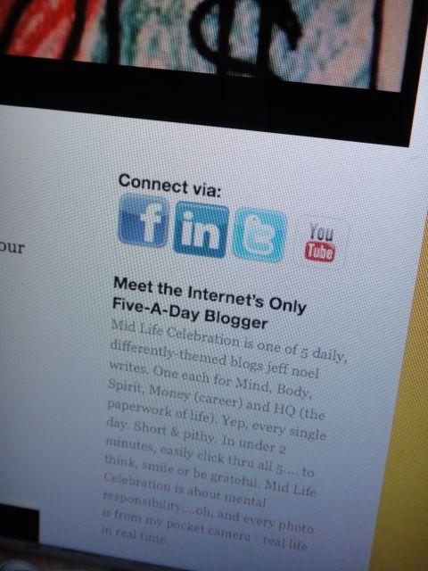 blogging style