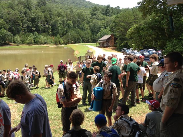 stay calm at summer camp