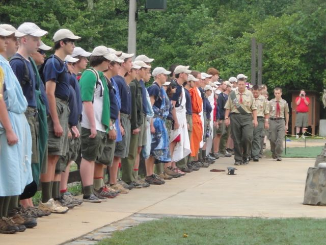 scouting camp staff