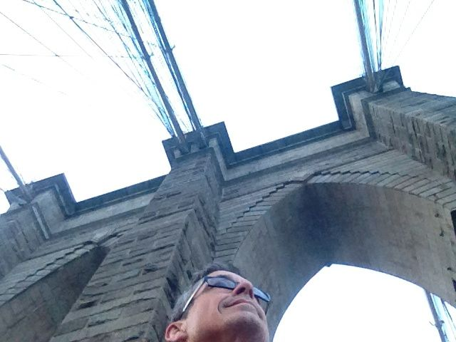 jeff noel at Brooklyn Bridge