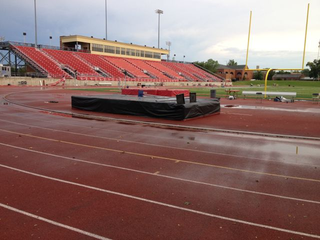Track and field venues