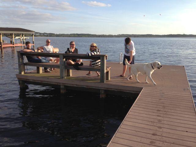 photo of Florida Lake dock