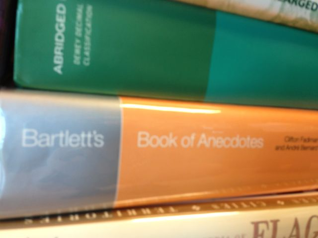 a life of anecdotes