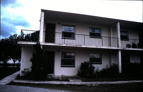 Sun Club apartments, Kissimmee, Florida 1984