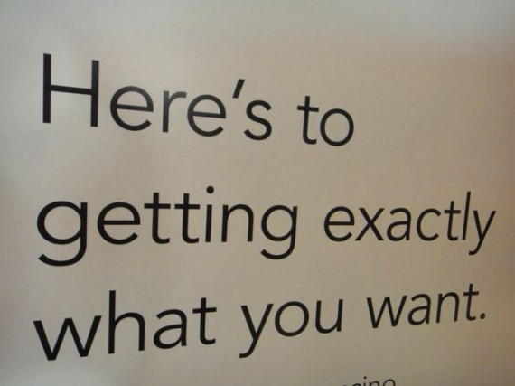 nice saying and wish for people to get what they want