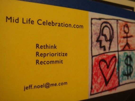 Drew Mid Life Celebration's logo, 2008