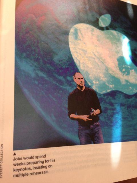 Steve Jobs on speech rehearsals