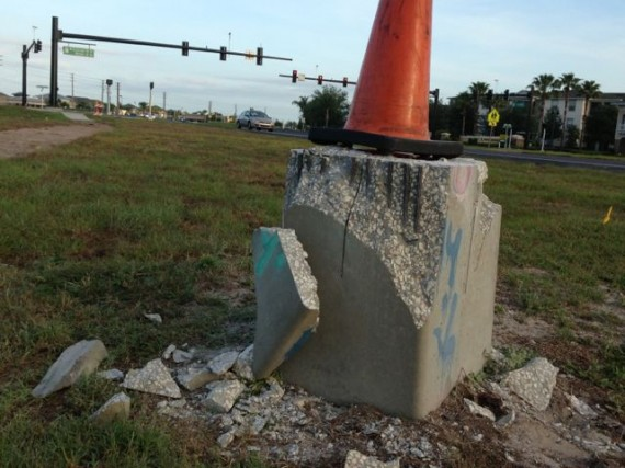 Traffic sign deconstruction