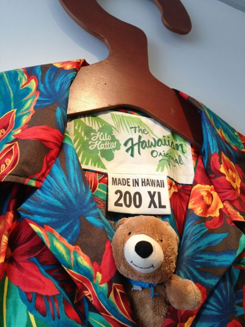 Largest Aloha shirt known