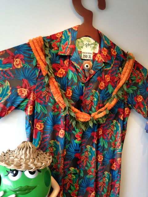 Size 200XL Aloha shirt at Hilo Hattie