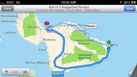 Maui road map