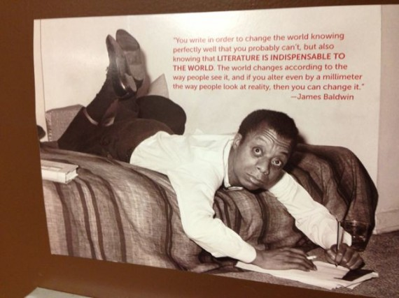 James Baldwin quote about literature
