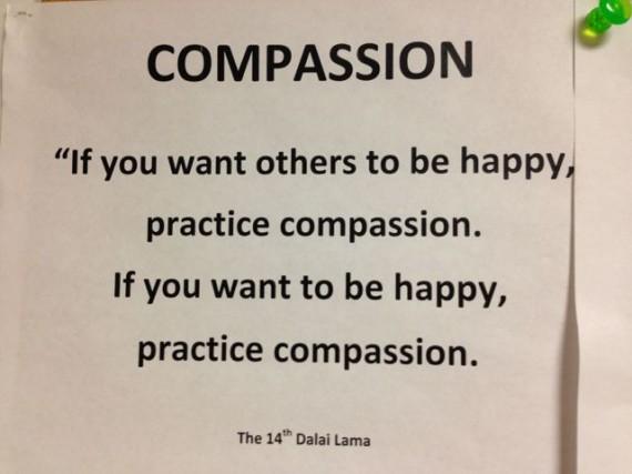 Dalai Lama quote on Compassion