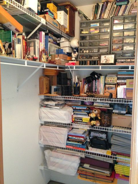 home office closet storage