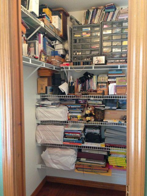 jeff noel's HQ closet