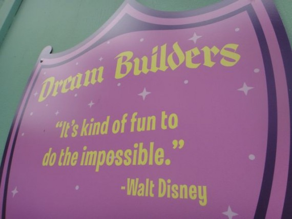 Walt Disney quote about doing the impossible