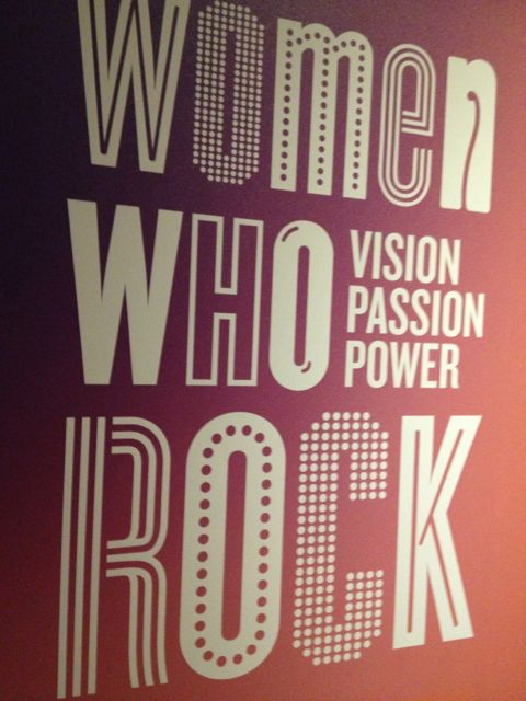 Women Who Rock poster at EMP Museum in Seattle