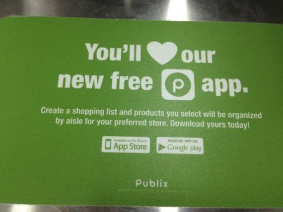 Publix Supermarket app