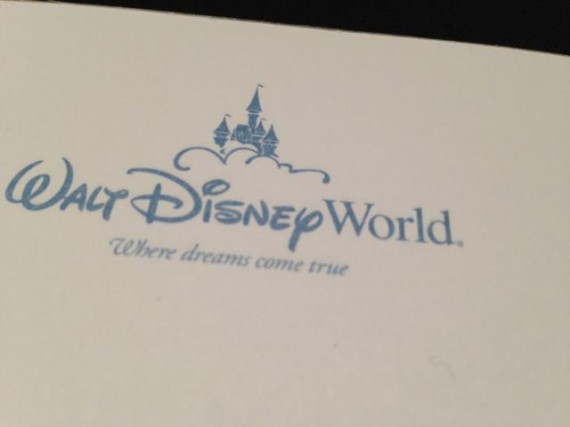 Walt Disney Resort stationary