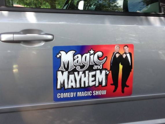 car magnetic business advertisement