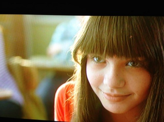 Young girl from TV commercial