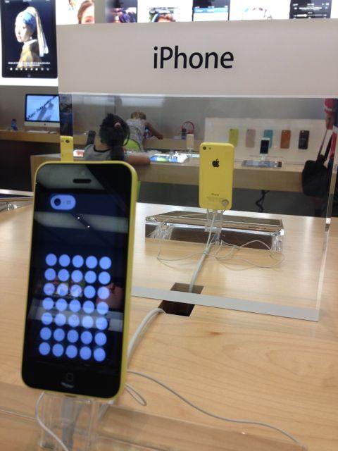 Yellow iPhone 5c