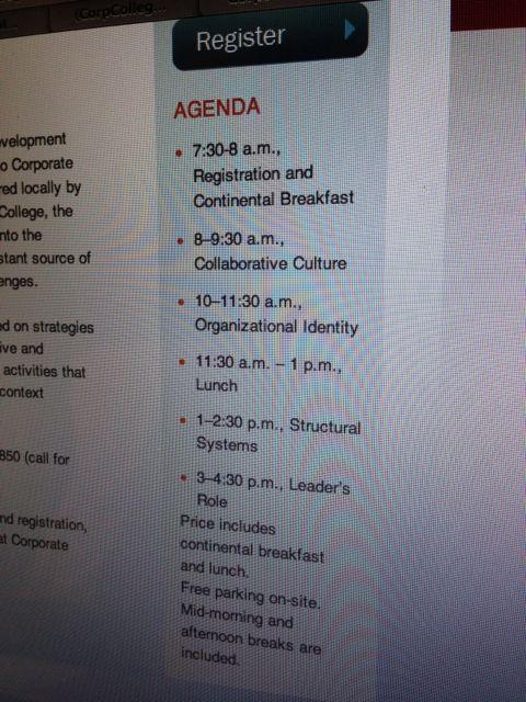 Classroom daily agenda
