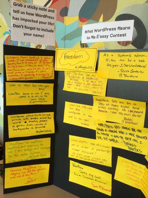 WordCamp Orlando message board 2013