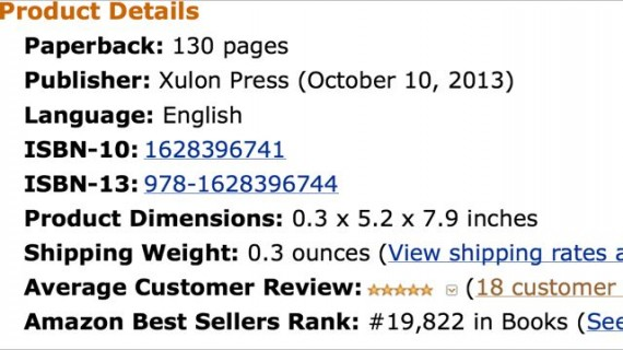 Amazon Sales Rank screen shot