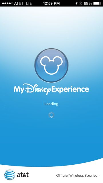My Disney Experience iPhone screen shot