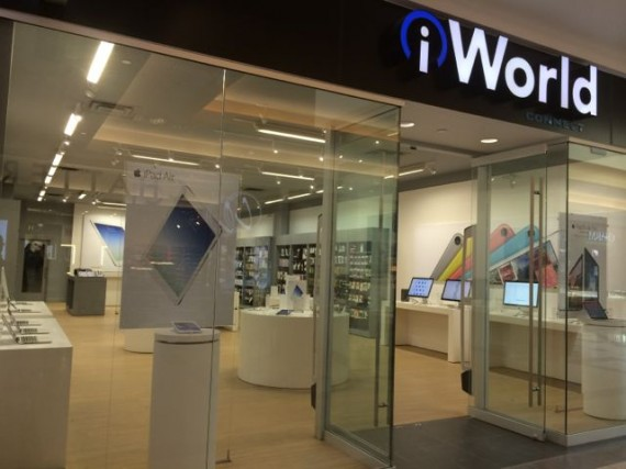 iWorld Apple reseller in Lethbridge, Alberta, Canada