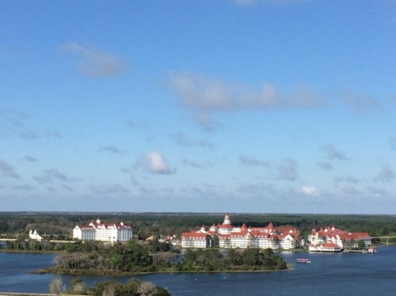 Disney's Grand Floridian Resort and Spa from Contemporary Resort