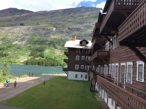 Many Glacier Hotel, Glacier National Park