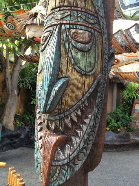 Disneyland Adventure Land Tiki God
