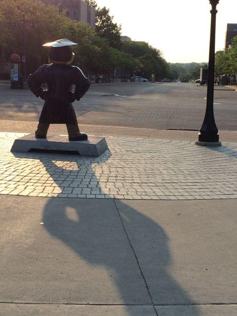University of Iowa's Mascot Herky