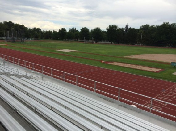 Colorado State University Track & Field complex