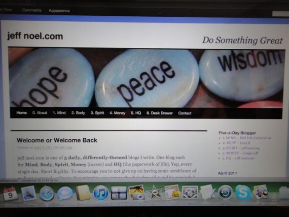 jeff noel.com old header