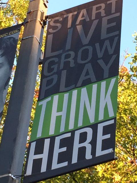 University of Iowa Motivational student banner