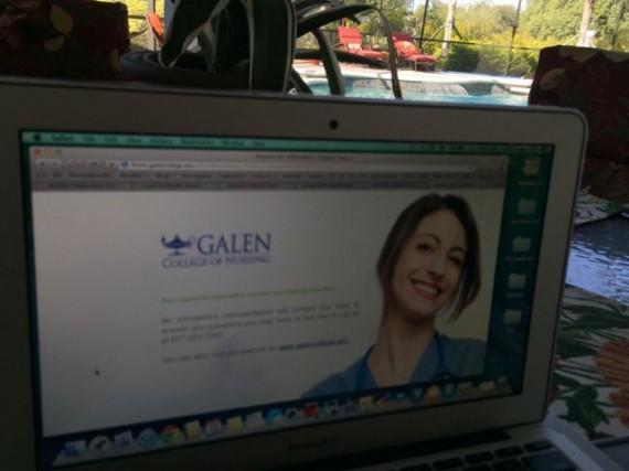 Galen College of Nursing website