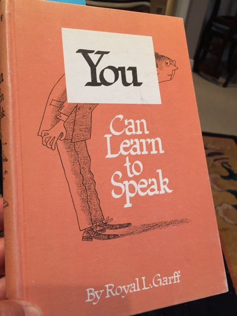 Classic book on speaking