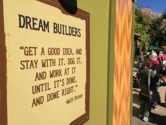 Walt Disney quote about ideas