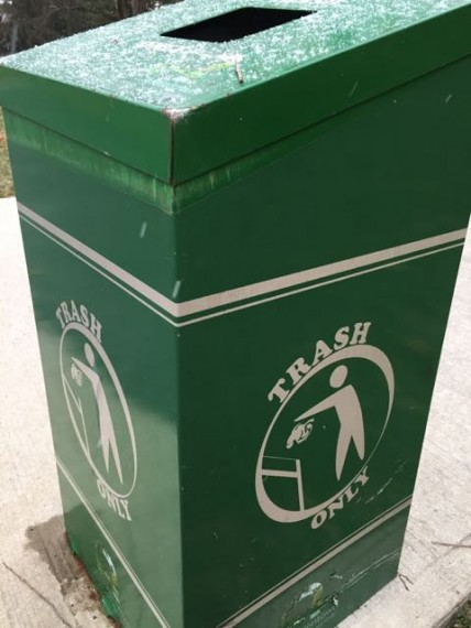 Municipal Trash Can