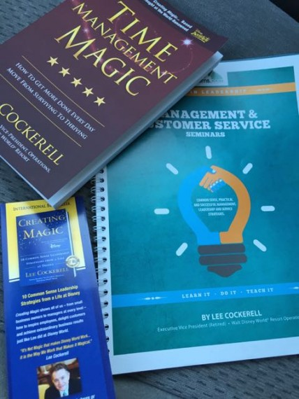 Lee Cockerell's new book Time Management Magic