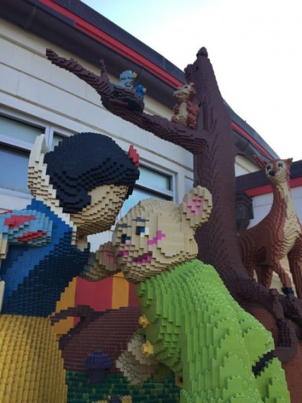 Lego Store at Downtown Disney