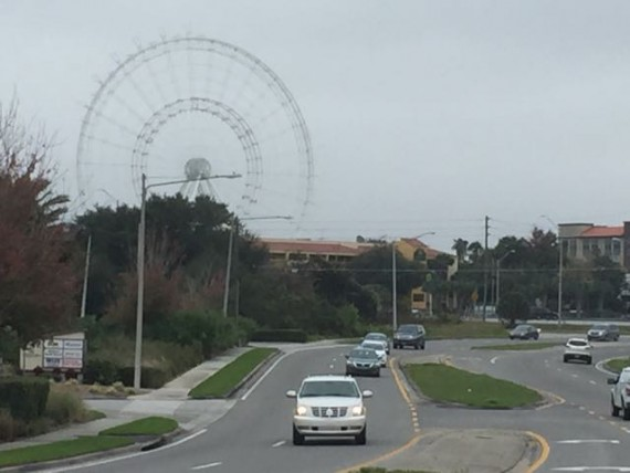 Biggest roller coaster under construction on Orlando's International Drive
