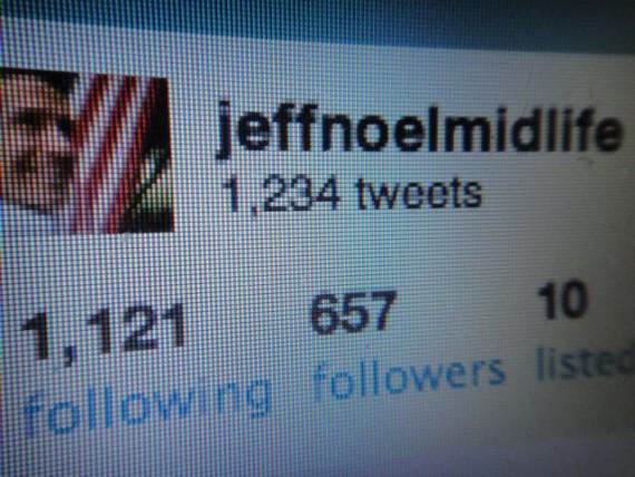 2010 Twitter profile for Disney Speaker jeff noel